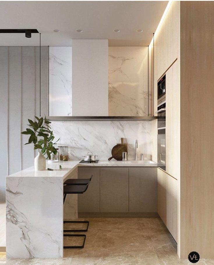Brilliant Small Kitchen Island Kitchen Interior Decoration: 46 Brilliant Small Apartment Decor And Design Ideas