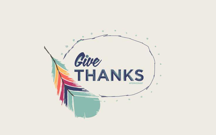 November Wallpaper / Thanksgiving / Give Thanks