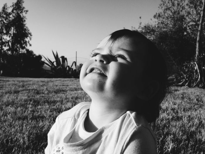 Dear One Year Old Lila Bear. Baby Bear. Milestones. Photography. Bear & Bloom. Baby. Smile. Baby Smile. Monochrome.