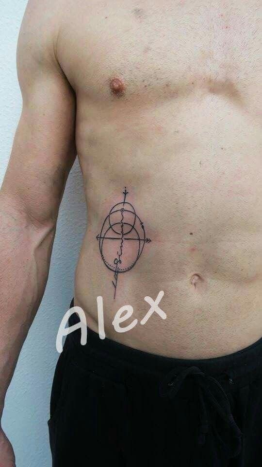 Minimal geometrical compass