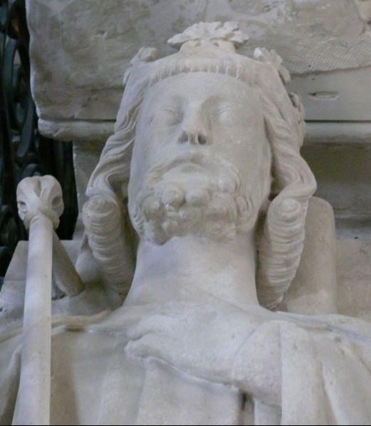 Gisant de Louis VI, basilique de Saint-Denis.