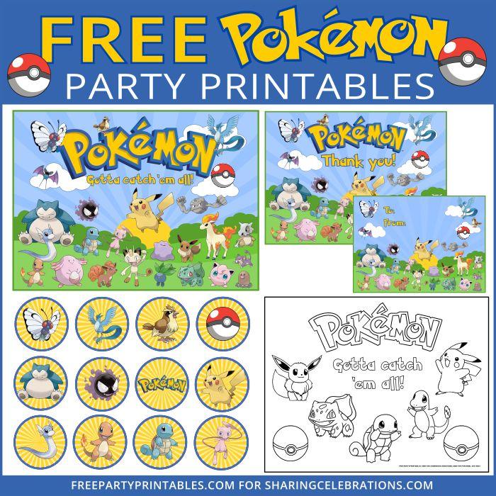 78 ideas about Pokemon Printables