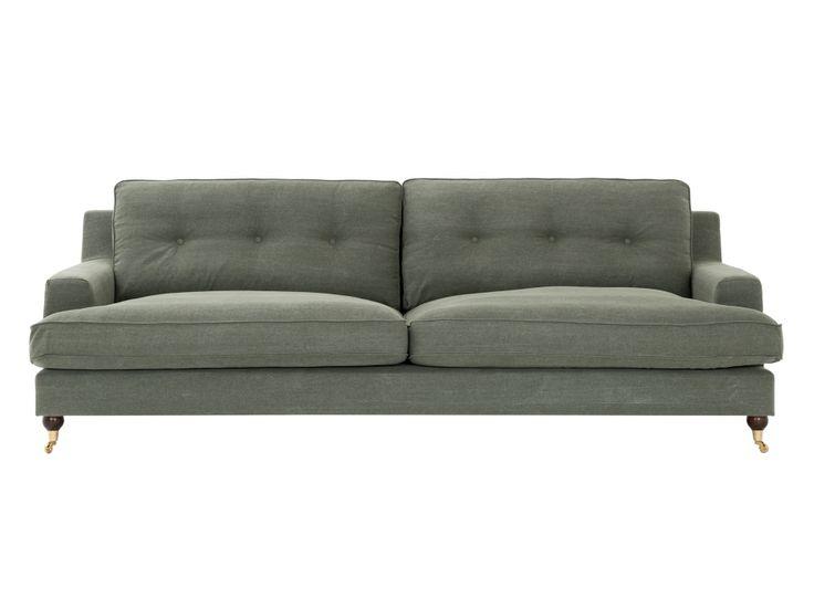 CONNOR 3,5-sits Soffa Grön i gruppen Inomhus / Soffor / Howardsoffor hos Furniturebox (110-50-94912)