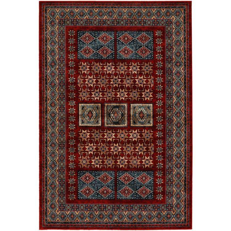 Couristan Timeless Treasures Royal Kazak/ Burgundy Rug