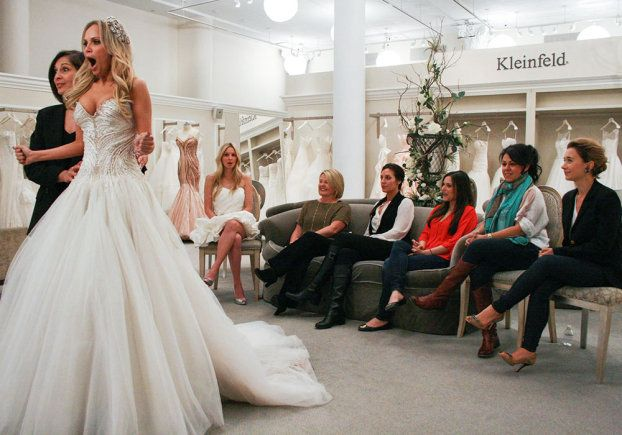 """Sometimes celebs, like Kristin Chenoweth, swing by, and then you get a sneak peek into what their wedding could look like. 