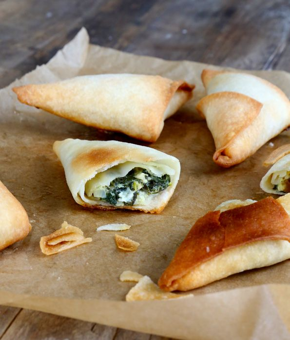 Gluten Free Phyllo Dough and Spanakopita