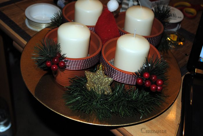 DIY - Christmas Deko  Adventskranz