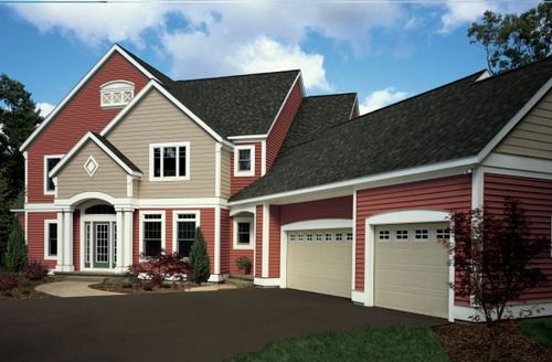 Vinyl colors barn red siding gallery red houses for Vinyl siding color ideas