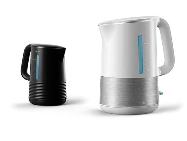 El hervidor de agua inteligente. Está bien diseñado y es práctico, está concebido para algunos de esos momentos en que usted necesita un poco de agua tibia y nada más. Smart Electric Kettle por Yang Izzie, Tong Pokeys and Mo Junyuan