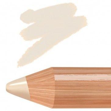 Biomatita occhi illuminante color crema dal finish satinato.