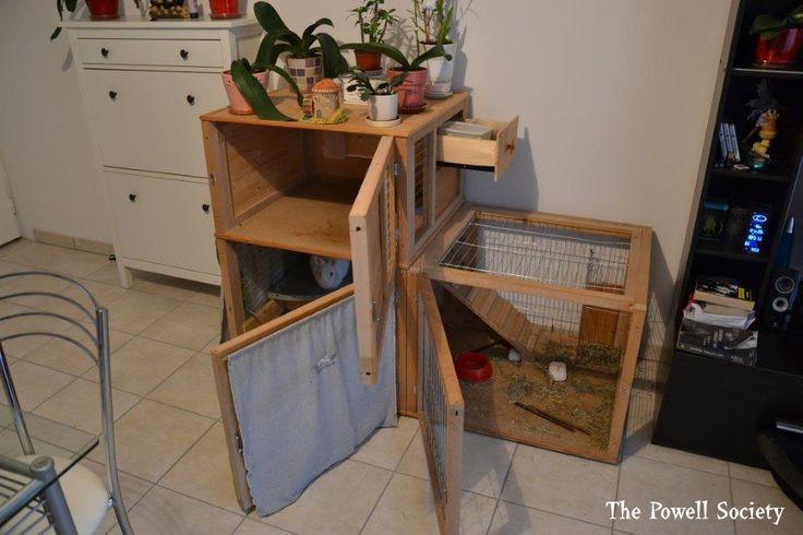 1000 id es sur le th me enclos lapin sur pinterest lapins rongeur et parc pour lapin. Black Bedroom Furniture Sets. Home Design Ideas
