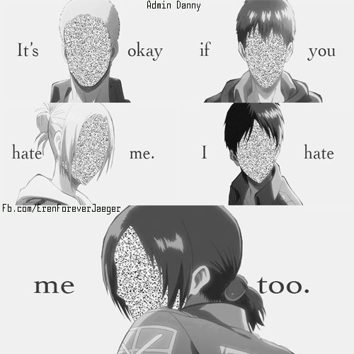 its okay if you hate me i hate me too reiner
