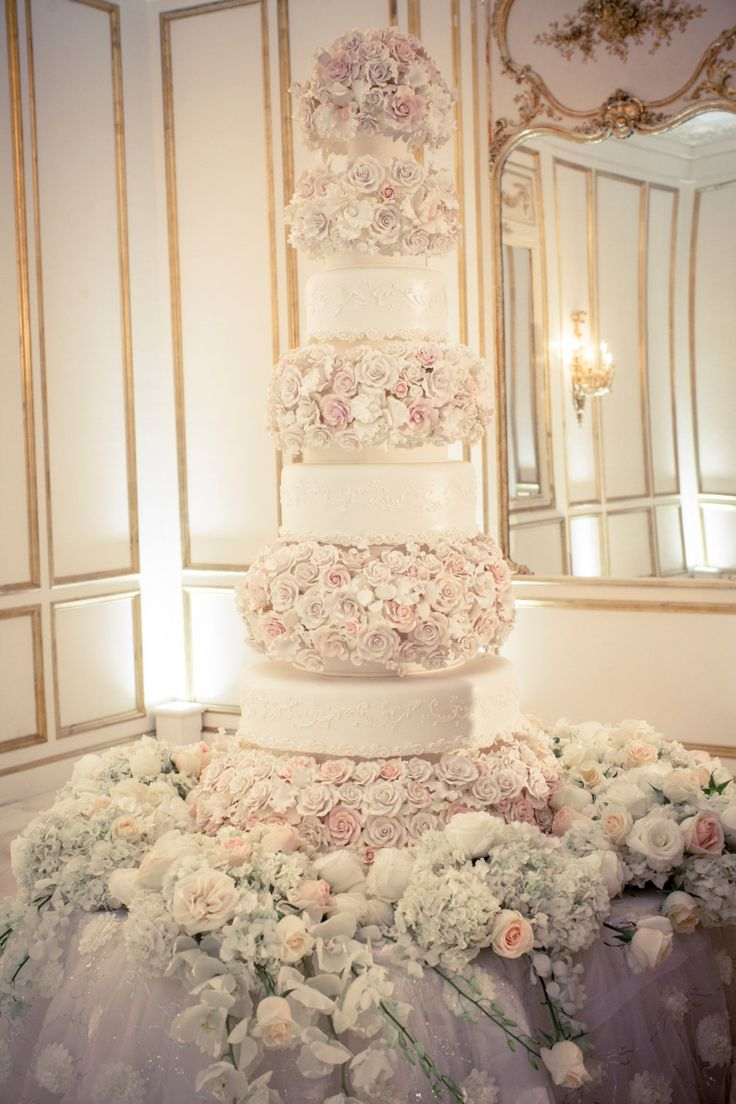Floral Design: Plants 'N Petals - http://www.stylemepretty.com/portfolio/plants-n-petals Photography: Select Studios - http://www.stylemepretty.com/portfolio/select-studios   Read More on SMP: http://www.stylemepretty.com/2015/04/21/miss-usa-says-i-do-in-a-glamorous-ballroom-affair/