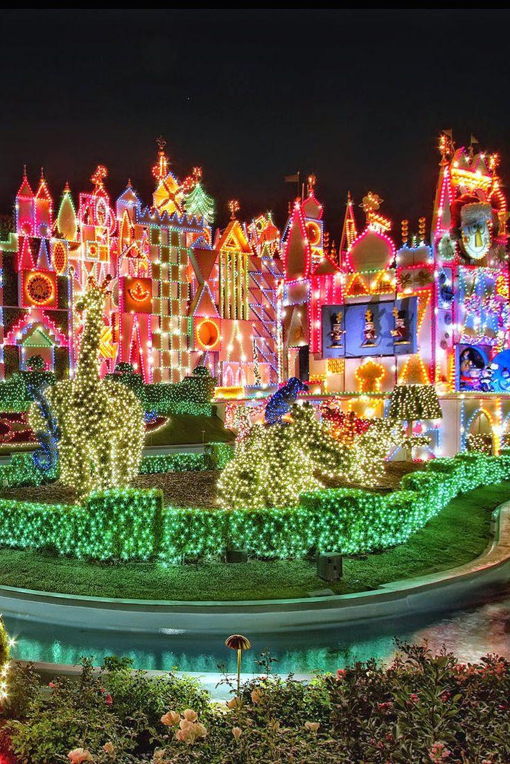 Christmas at Disneyland, Anaheim, Orange, California