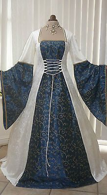 Medieval Wedding Dress Renaissance Masquerade Ball Gown