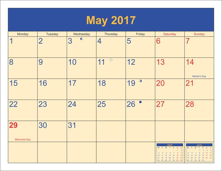 Printable Calendar May 2017 best 20+ may 2017 calendar ideas on pinterest | calendar may, 2016