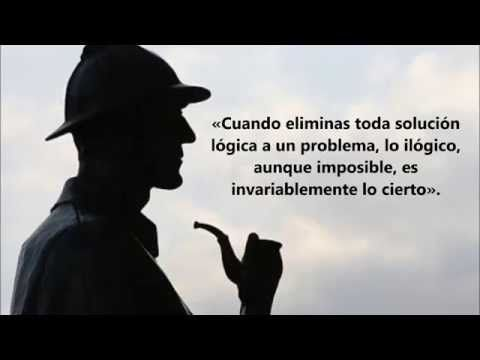 Frases de Sherlock Homes - YouTube