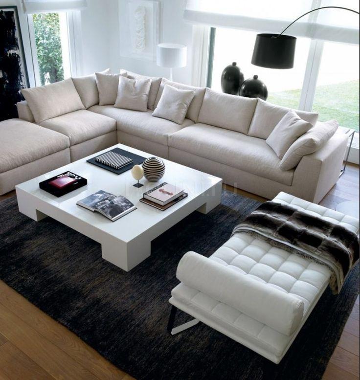 awesome dco salon salon moderne en couleur neutre 24 inspirations exquises check more