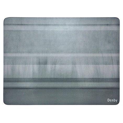 Denby Set of four grey placemats | Debenhams