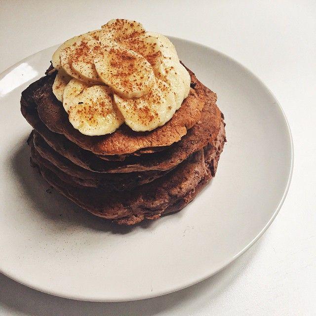 Vegan Pancakes #nutricion #nutrition #healthy #saludable #salud #panquecas #desayuno #madrid #vscocam #dieta #yum #foodporn #nutricionista