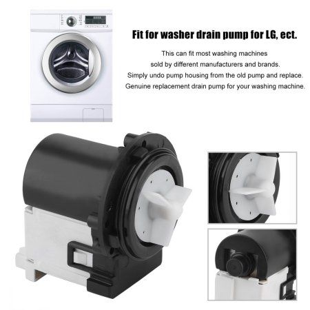 Washer Drain Pump Portable Washing Machines Replacement Part