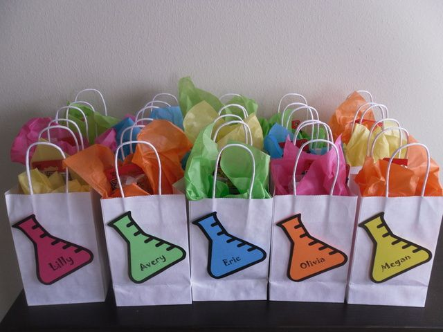 "science ""goody"" bags"