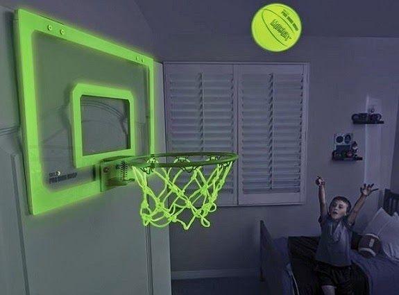 Glow in the Dark Indoor Basketball Hoop