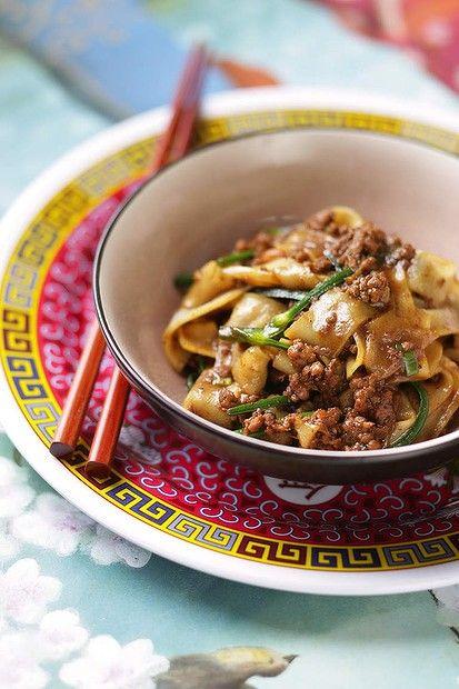 Brigitte Hafner's sichuan spicy pork and noodles. Photo: Marina Oliphant