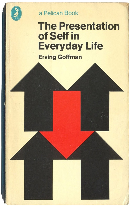 149 best sociology books images on pinterest sociology books jean 1972 the presentation of self in everyday life erving goffman pelican books fandeluxe Gallery