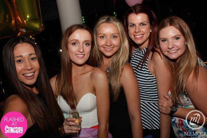 The beautiful people of Stingray Lounge at QT Gold Coast