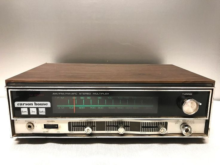 Carson Pirrie Scott Carson House TRS-1001 AM FM Stereo Receiver FOR PARTS #CarsonPirrieScott