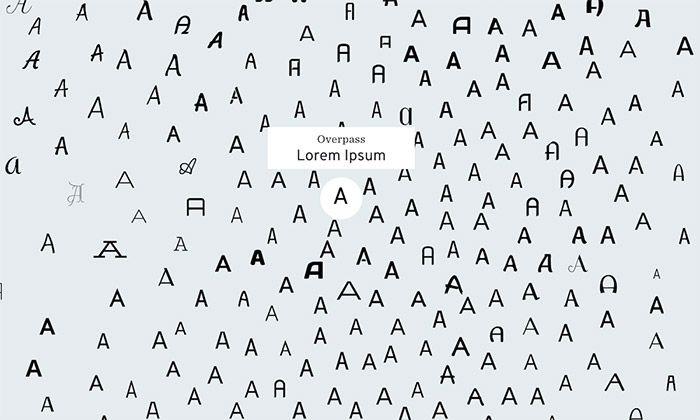 IDEO vyvinulo interaktivní Font Map ukazující písma