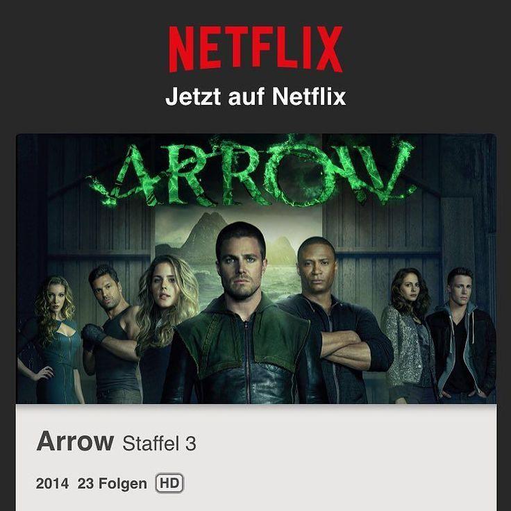 yippie .. Staffel 3 ist online  #netflix #netflixen #arrow