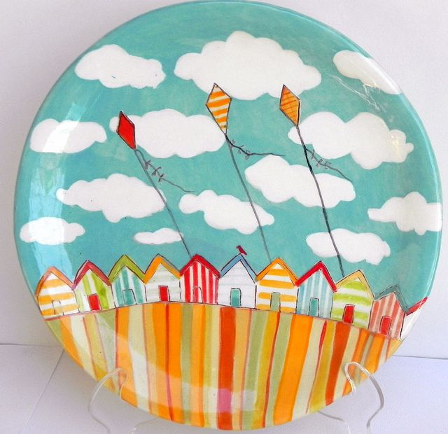 Best 25 paint your own pottery ideas on pinterest for Where to buy ceramic plates to paint