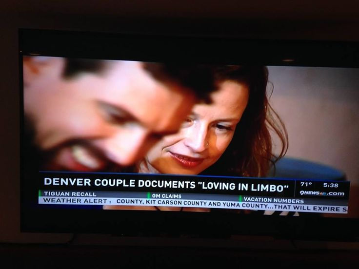 Hap and Mandy feature on the news in America to tell their story.  Aww, together!!!