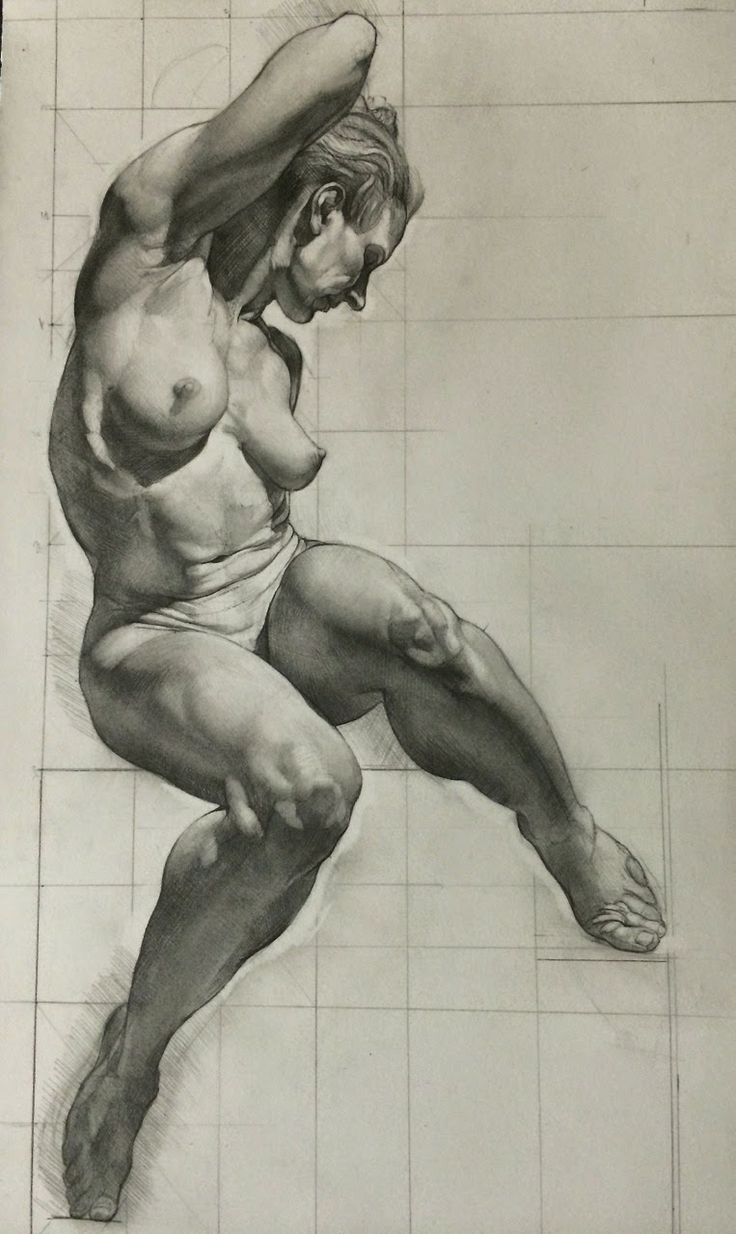 Sabin Howard nude figure drawing #NFSW ★ Find more at http://www.pinterest.com/competing/