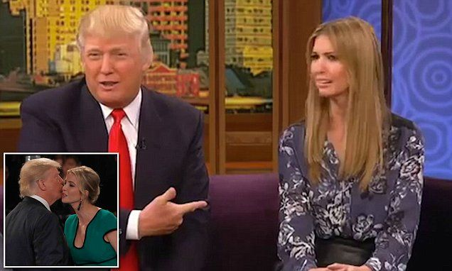 Trump says sex is the only thing he has in common with daughter Ivanka