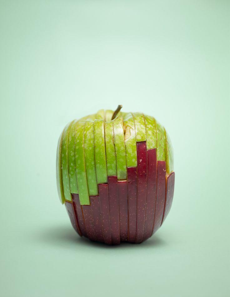 креативные картинки яблок выбрала плавание, оно