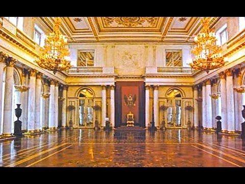 Эрмитаж, Петербург - Большое Путешествие. Тронный зал и Невская анфилада...