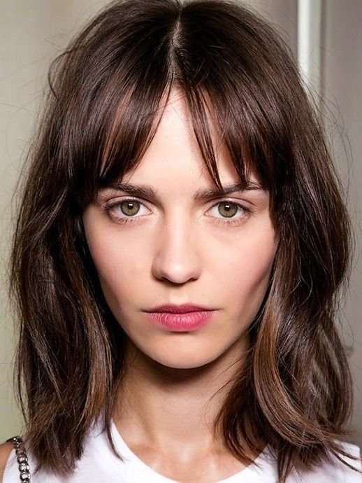 Fine 1000 Ideas About Long Bob With Fringe On Pinterest Longer Bob Short Hairstyles Gunalazisus
