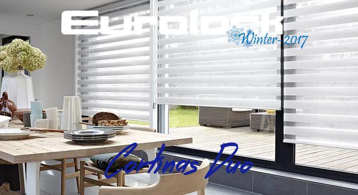 Una cocina es perfecta por sus detalles, las cortinas le darán a ese espacio un look único y especial. Visítenos y conozca las miles de posibilidades que sus espacios tienen con nuestros productos! www.eurolock.cl