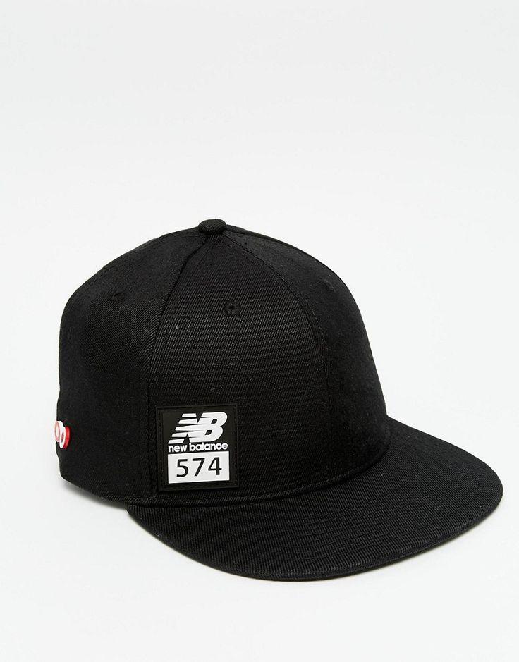 Mega seje New Balance 574 Snapback Cap - Black New Balance Accessories til Herrer til enhver anledning