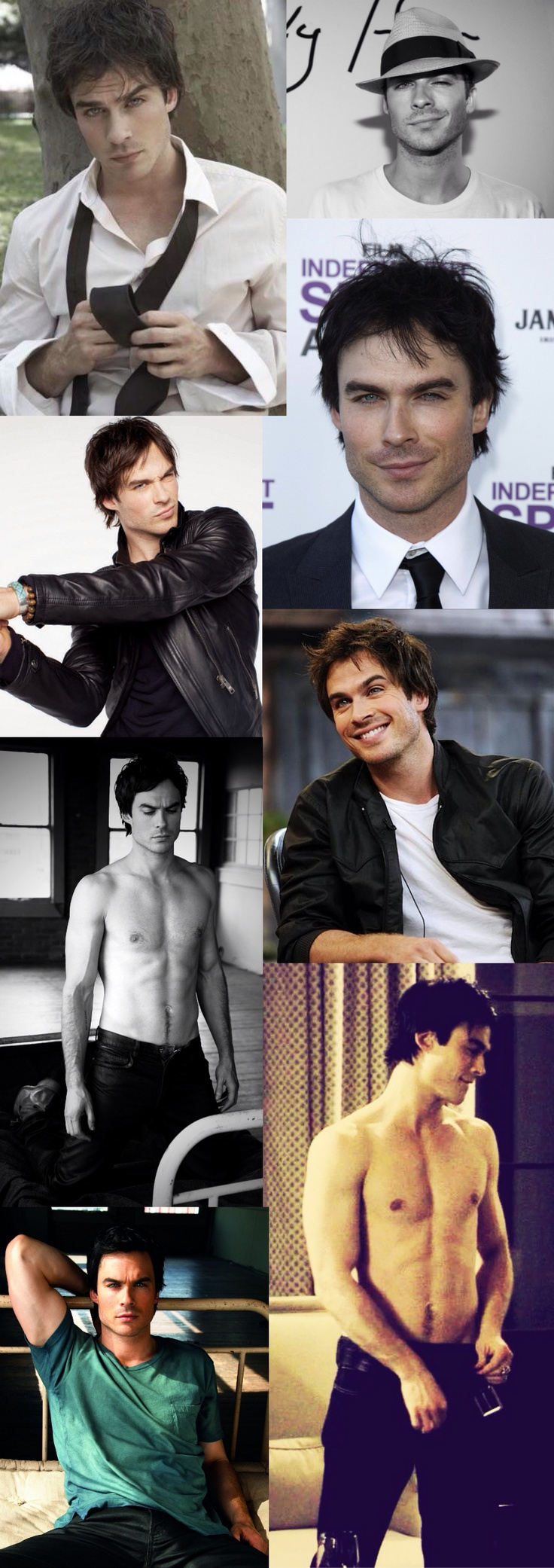 Ian Somerhalder... Occupation: Making everyone else look unattractive by comparison xP