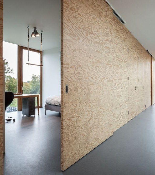 HappyModern.RU | Раздвижные перегородки для зонирования пространства в комнате — 47 фото идей |…