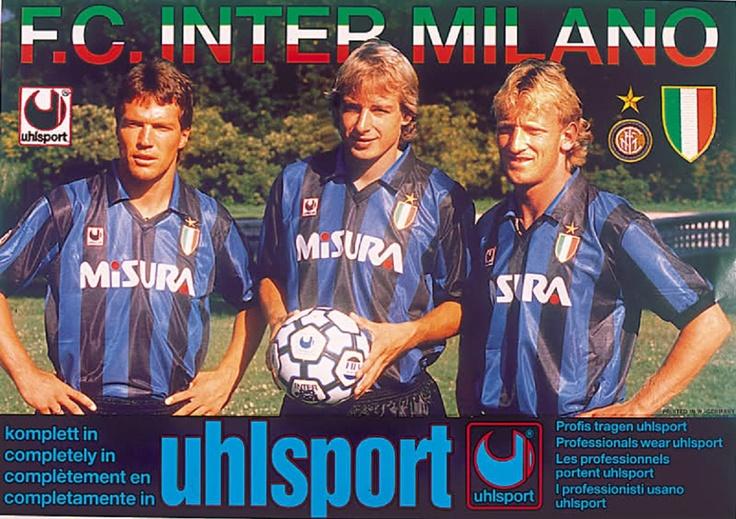 Lothar Matthäus,Jürgen Klinsmann & Andreas Brehme.
