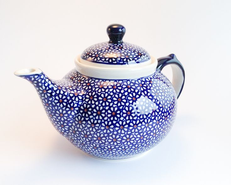 Teapot 1.25l #polishpottery #bunzlau #Boleslawiec #pottery #handmade #potterycorner