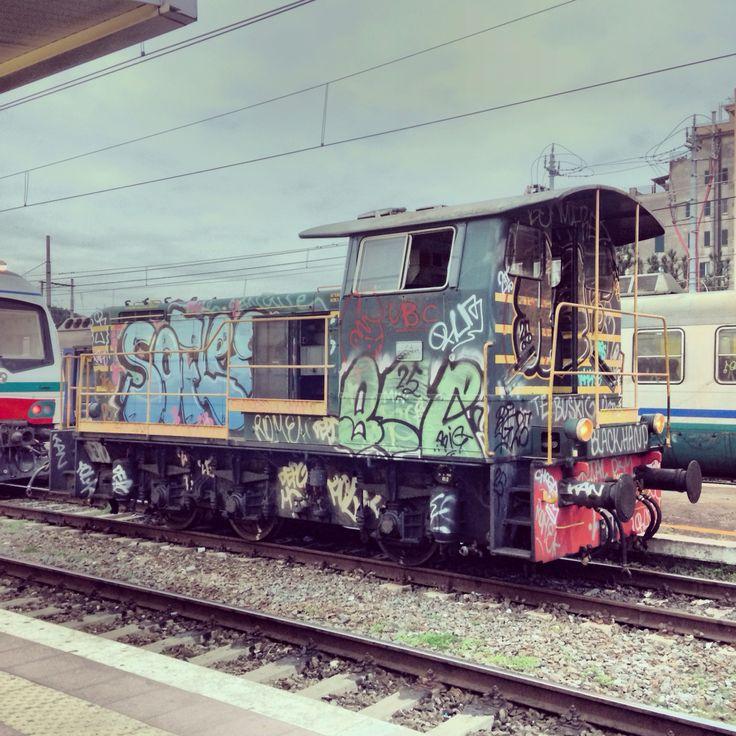 Vagone Stazione Tuscolana Fantasmi