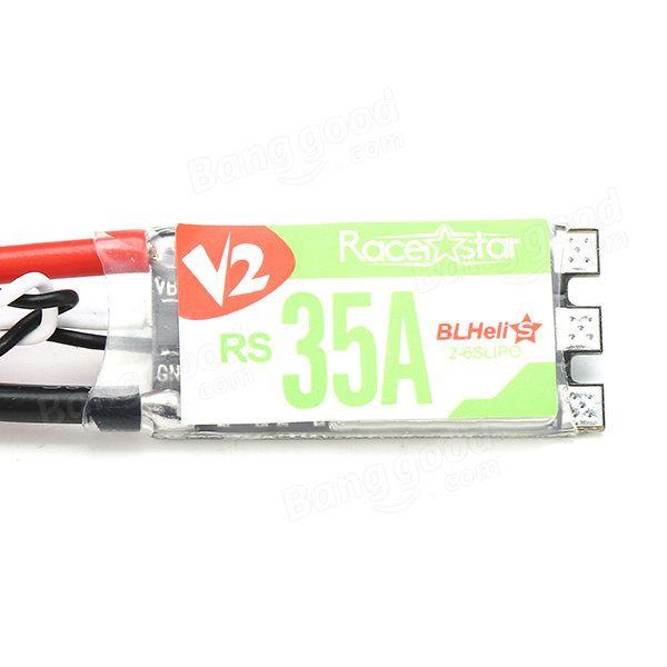 4X Racerstar RS35A V2 BB2 Blheli_S 2-6S ESC Support Dshot600