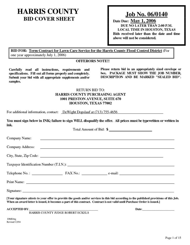 lawn service sample contract