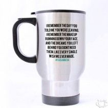 5Sos Amnesia Quotes Liryc Travel Mug